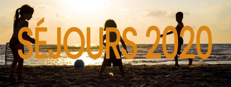 Séjours 2020